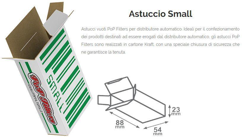 ASTUCCI PER DISTRIBUTORE SMALL PZ 250