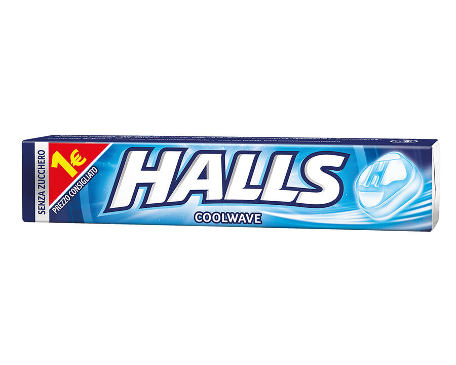 HALL'S STICK PZ 20 ORIGINALE SENZA ZUCCHERO