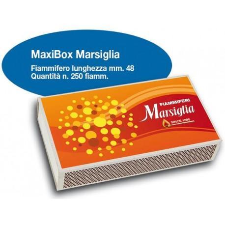 FIAMMIFERI MAXI BOX MARSIGLIA PZ 10X250