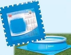 Tappettino 8 pz componibile base fondo piscina 50 x 50 bestway 58220