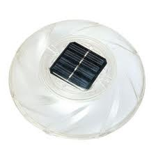 Lampada solare galleggiante led piscina diam 18 cm Bestway 58111