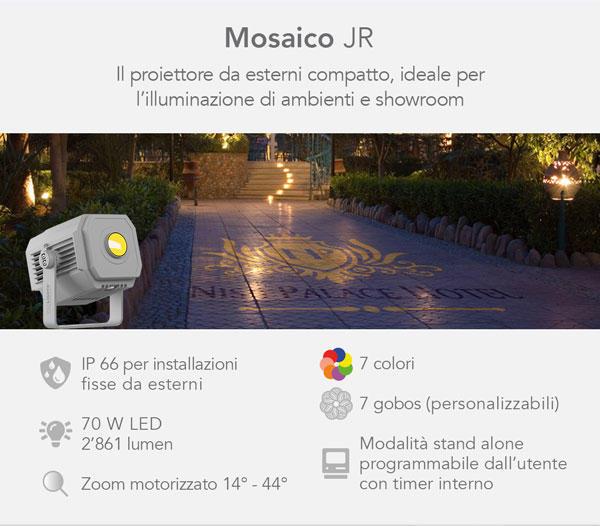 Prolights Mosaico JR - Proiettore Led IP