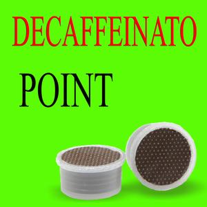 100 Capsule DECAFFEINATO compatibili Lavazza Point