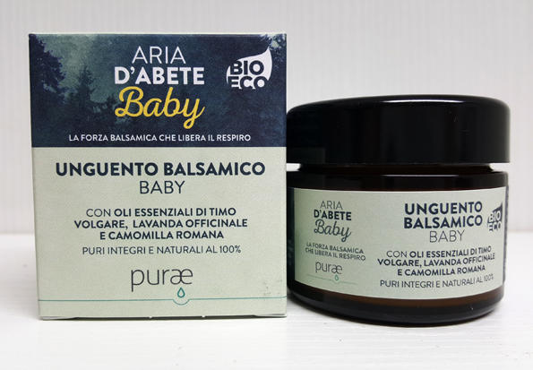 ARIA D'ABETE - Purae - Unguento Balsamico Baby
