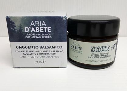 ARIA D'ABETE - Purae - Unguento Balsamico