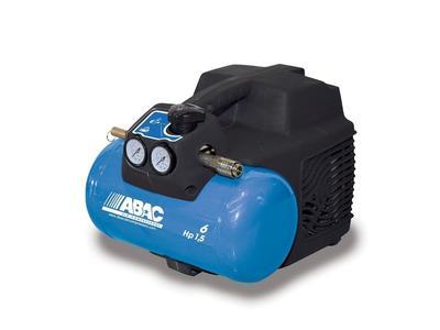 Compressore elettrico compatto portatile ABAC START O15 motore 1.5 HP - 6 lt