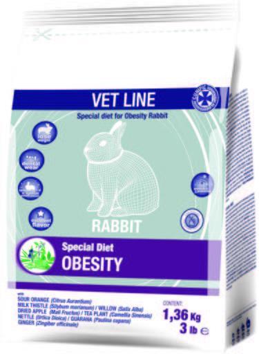 Cunipic Vet Line Obesity Conigli - 1,36