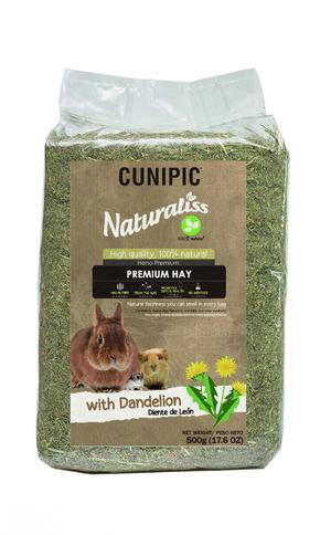 Cunipic Naturaliss Premium Hay Fieno dente di leone