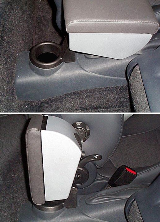 Accoudoir réglable en longueur avec porte-objet pour Mini (2014>) F55 (5 portes) 3 generation