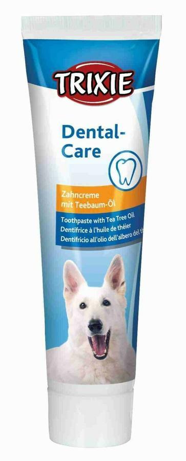 Trixie Dentifricio Per Cani  All'albero Di The 100g Pulizia Denti Cane Igiene Dentale