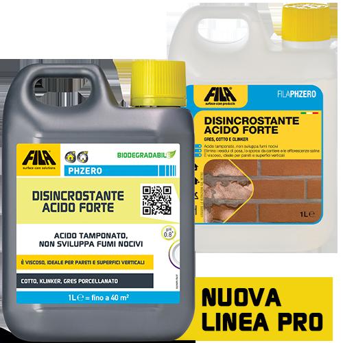 FILAPHZERO Fila Ph Zero Disincrostante Acido Concentrato 1l