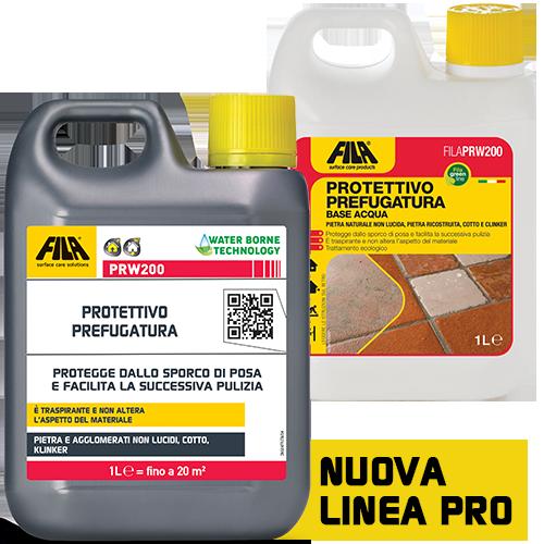 FILA PRW200 Protettivo prefugatura 5 litri FILA PRW200 - Idrorepellente contro lo sporco di posa