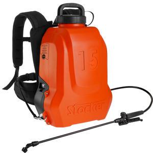 Pompa a Batteria STOCKER 227 ERGO -15 lt con Guarnizioni FPM