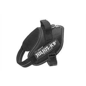 Julius K9 IDC Powerharness Pettorina Per Cani Nera Taglia Mini Mini M 49-67cm 7-15 KG