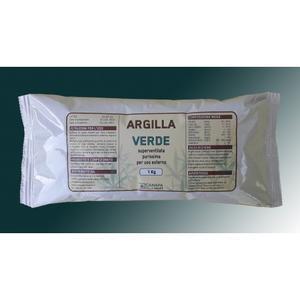 Argilla Verde Canapa  1 kg