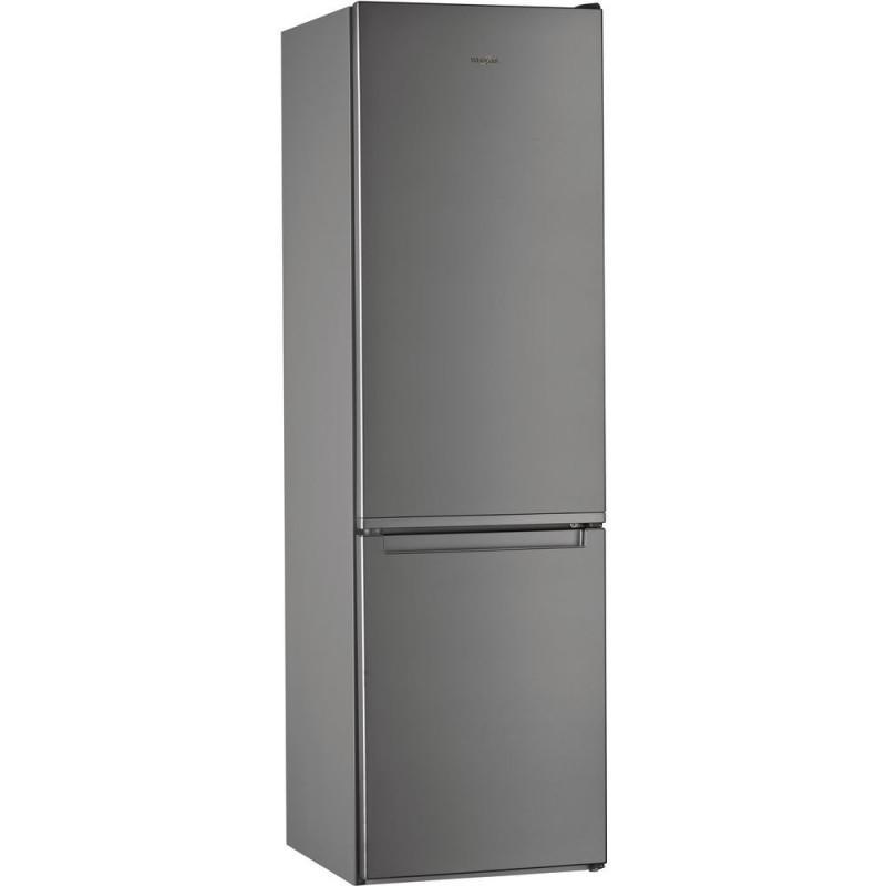 WHIRLPOOL frigo combinato 368lt A+++ inverter no frost ACCIAIO INOSSIDABILE W7931A0X