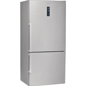 WHIRLPOOL frigo combinato 396lt A++ inverter no frost ACCIAIO INOX W84BE72X