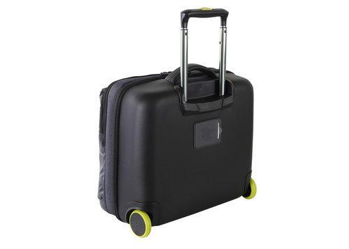 Borsa da viaggio con ruote, porta PC Colore Nero - Linea Passenger