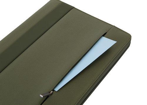 Portablocco Con Chiusura Zip formato A4 Colore Verde - Linea Easy +