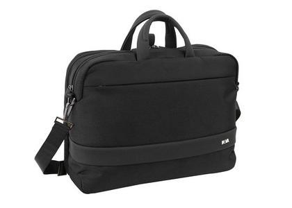 Cartella  porta PC trasformabile in zaino con tasca frontale colore Blu Notte - Linea Easy +