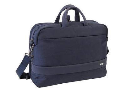 Cartella  porta PC trasformabile in zaino con tasca frontale colore Nero - Linea Easy +