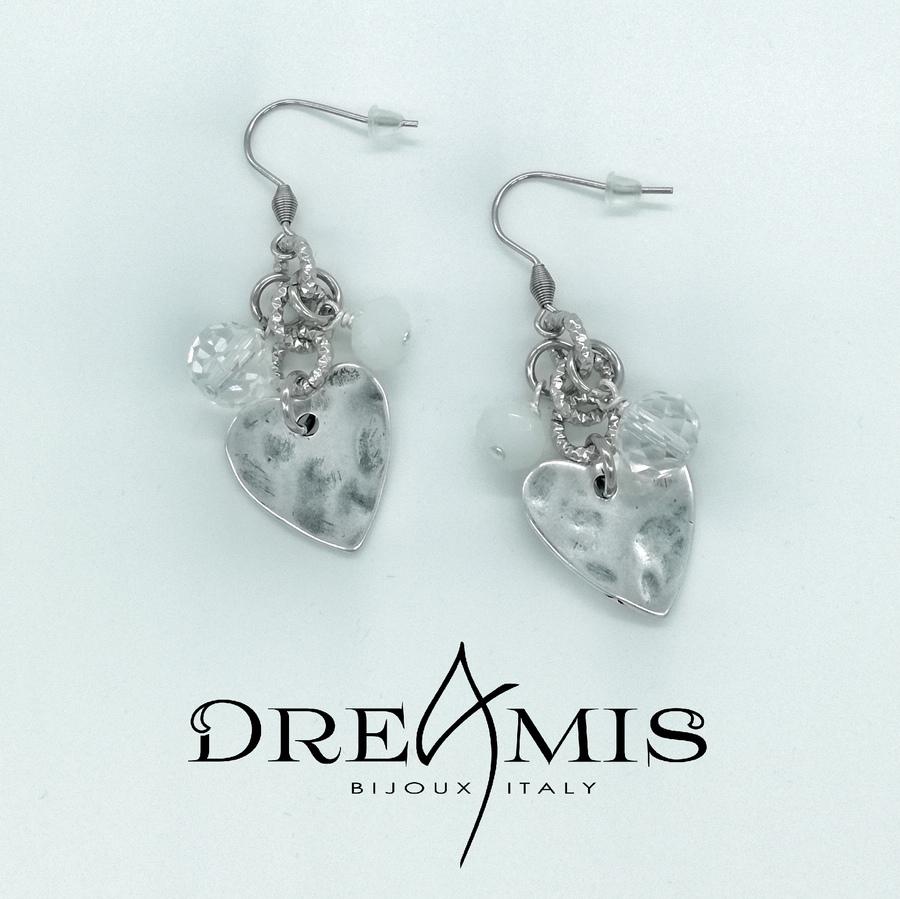 Boucles d'oreilles PRINCIPINO white