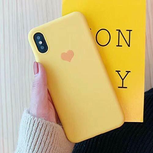 Cover Per Apple iPhone Heart Case Originale Silicone 6 6S+Plus 7 8 X XR XS Max