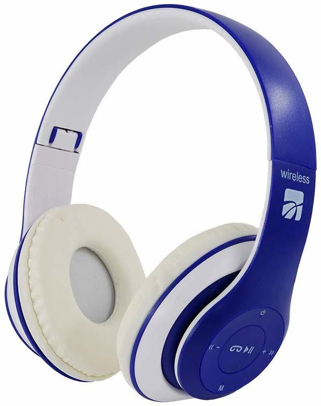 XTREME Young Colorado Cuffie  Wireless Bluethooth  BLU - RED - WHITE