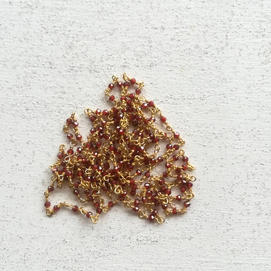 Bracciale rosario con piccole pietre [ + colori ]