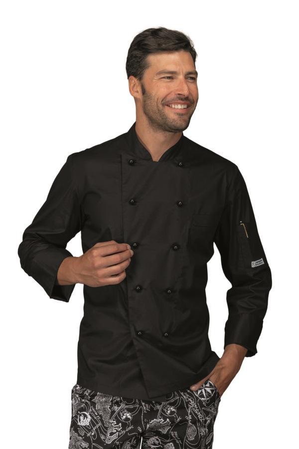 Giacca da Cuoco Alabama Slim in diversi tessuti anche Mezza Manica