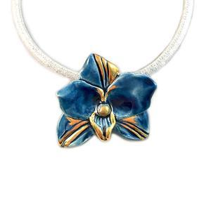 collier orchidea