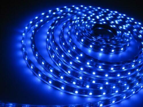 STRISCIA LED SMD 5050 300 LED 5M 5 METRI 12V IP66 ADESIVA BOBINA LED FLESSIBILE VARI COLORI
