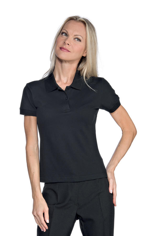 POLO STRETCH DA DONNA IN COTONE