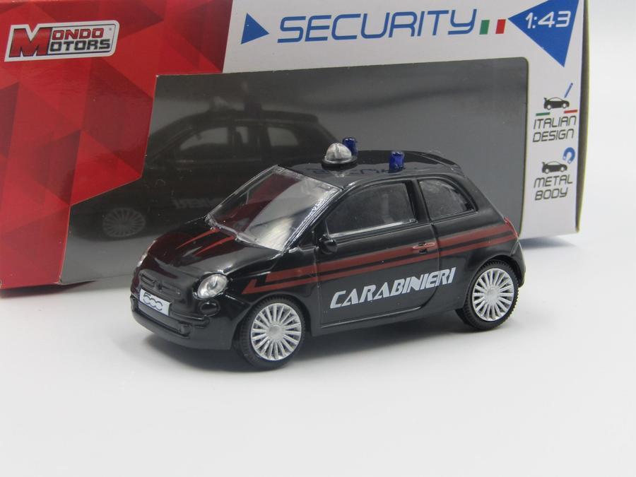Mondo Motors 53012 - Auto 1:43 Security  (Scegli il tuo modello preferito)