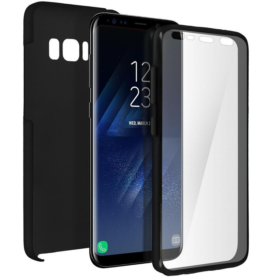 5 Pack Cover Integrale Samsung Galaxy S8 Fronte Retro Protezione Custodia Vari Colori