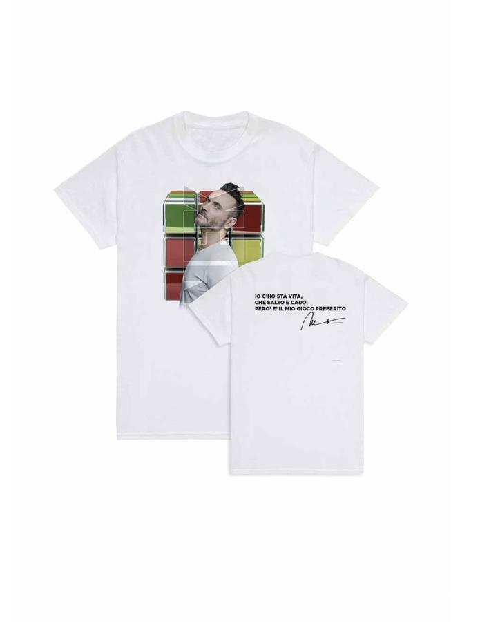 T-shirt IL MIO GIOCO PREFERITO - Foto frontale - Colore White