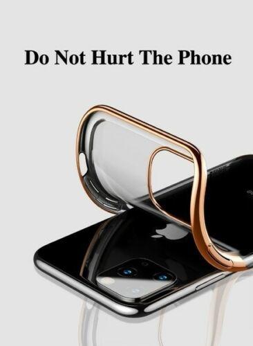 COVER per Iphone 11 / PRO / PRO MAX CUSTODIA PROTETTIVA BORDI COLORATI