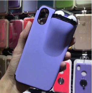 COVER CUSTODIA PROTETTIVA PER IPHONE 7 PLUS + CUSTODIA E RICARICA AURICOLARI AIRPODS