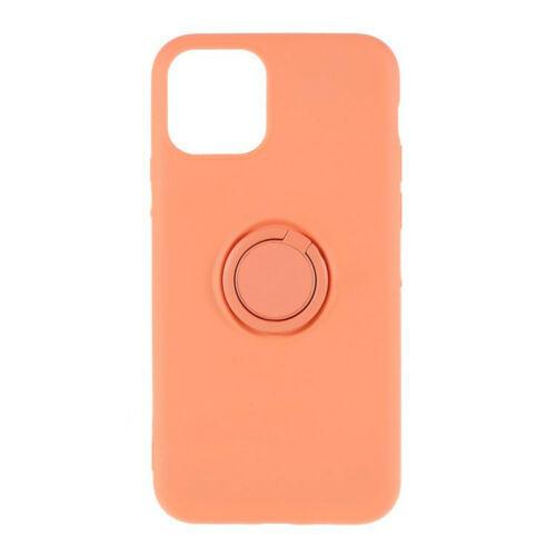 CUSTODIA COVER PER APPLE IPHONE 11 PRO MAX 6.5'' COVER SLIM CON ANELLO STAND