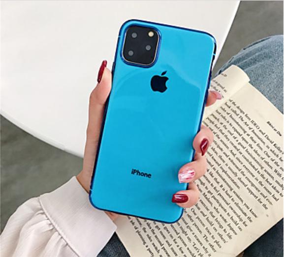 CUSTODIA PER APPLE IPHONE XS MAX COVER PROTETTIVA IN SILICONE VARI COLORI