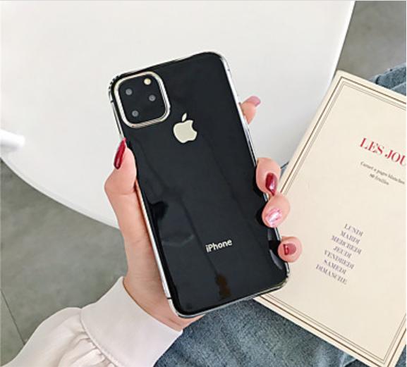 CUSTODIA PER APPLE IPHONE 11 PRO MAX 6.5'' COVER PROTETTIVA IN SILICONE VARI COLORI