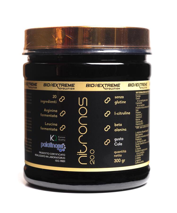 NITRONOS 20.0 - Energetico pre allenamento - 300 g