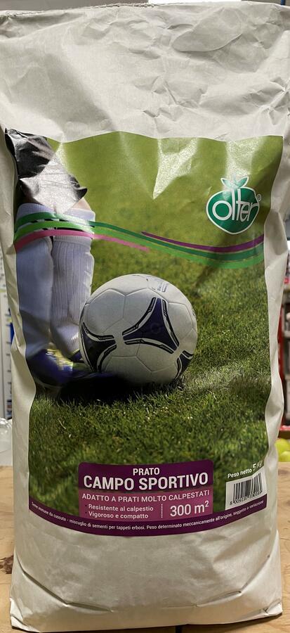 Prato Campo Sportivo Olter Disponibile nei Formati da 1 - 5 KG