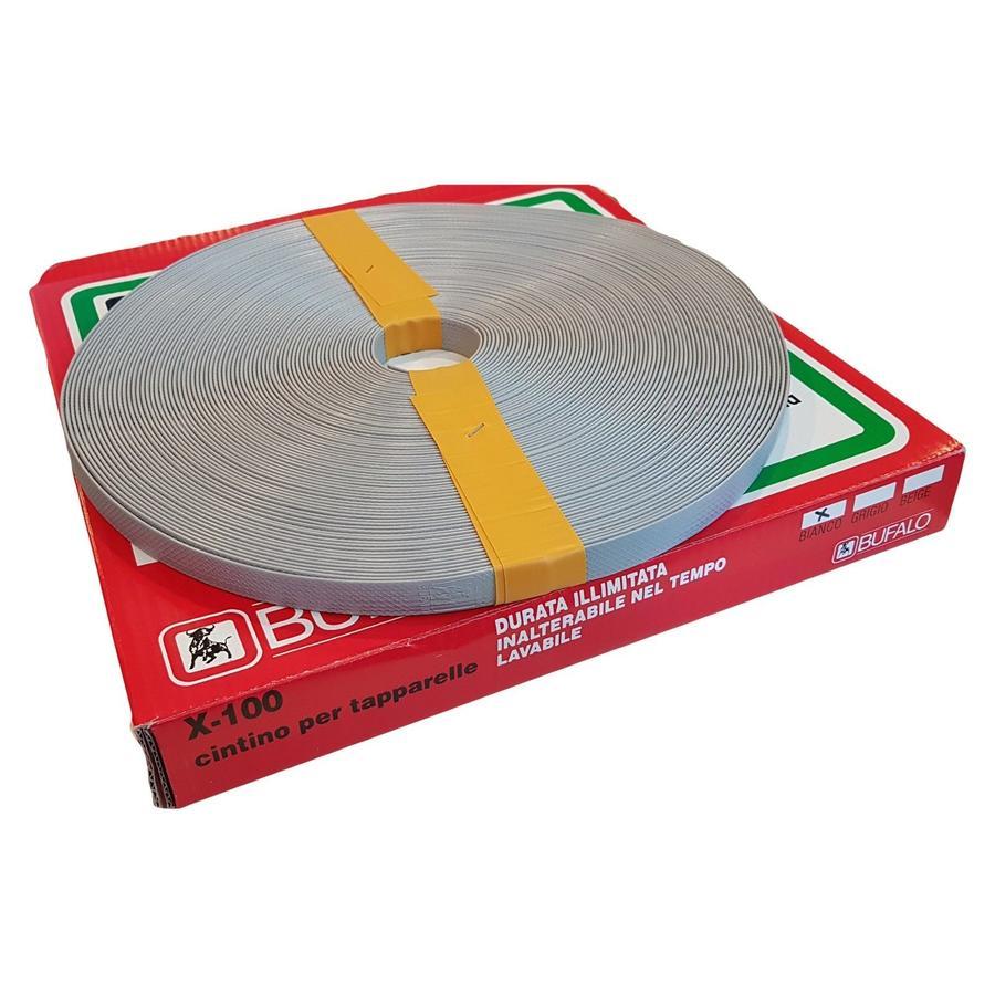 Cintura cintino Bufalo In PVC - saratoga per avvolgibile tapparelle finestre balconi colori vari prezzo a metro
