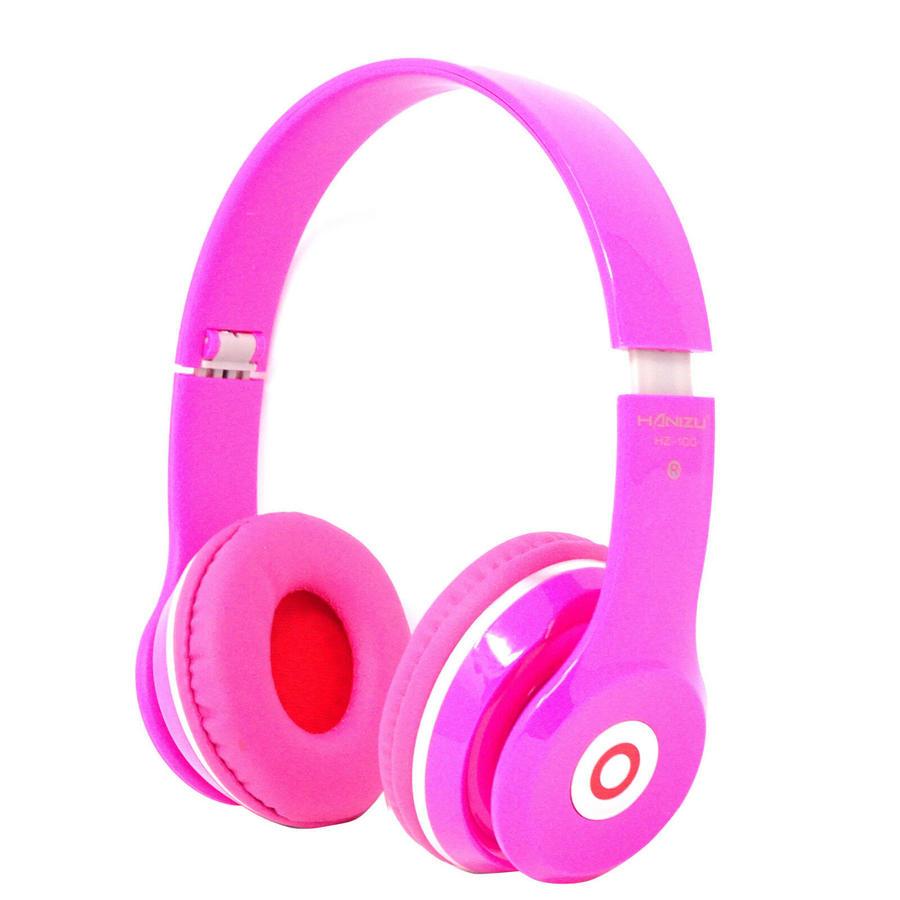 CUFFIE DINAMICHE PIEGHEVOLI HZ-100 STEREO EXTRA BASS MP3 CAVO AUX JACK 3,5MM