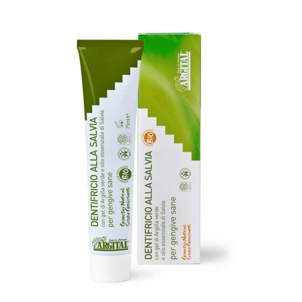 Dentifricio Salvia Argital 100% Naturale