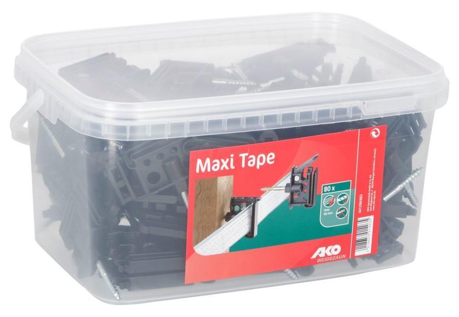 Isolatore Clip Maxi Tape confezione da 30 - 80 pz