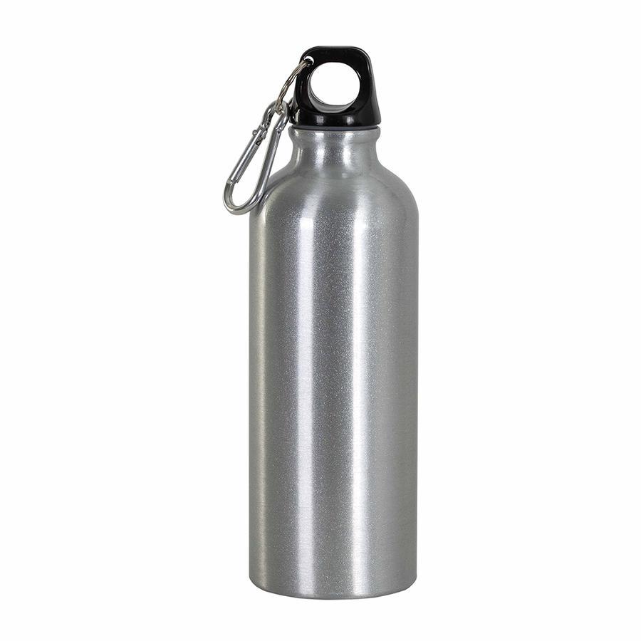CONFEZIONE DA 50 Borracce in alluminio con moschettone, 750 ml