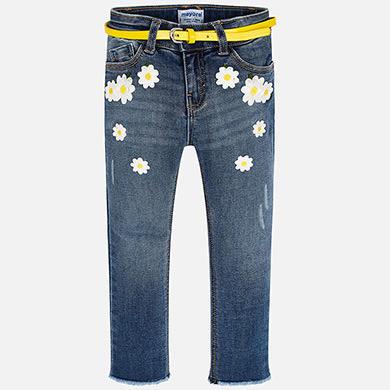 Pantalon lungo jeans fantasia Scuro
