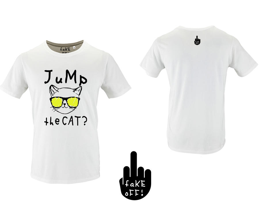 T-Shirt Jump The Cat?